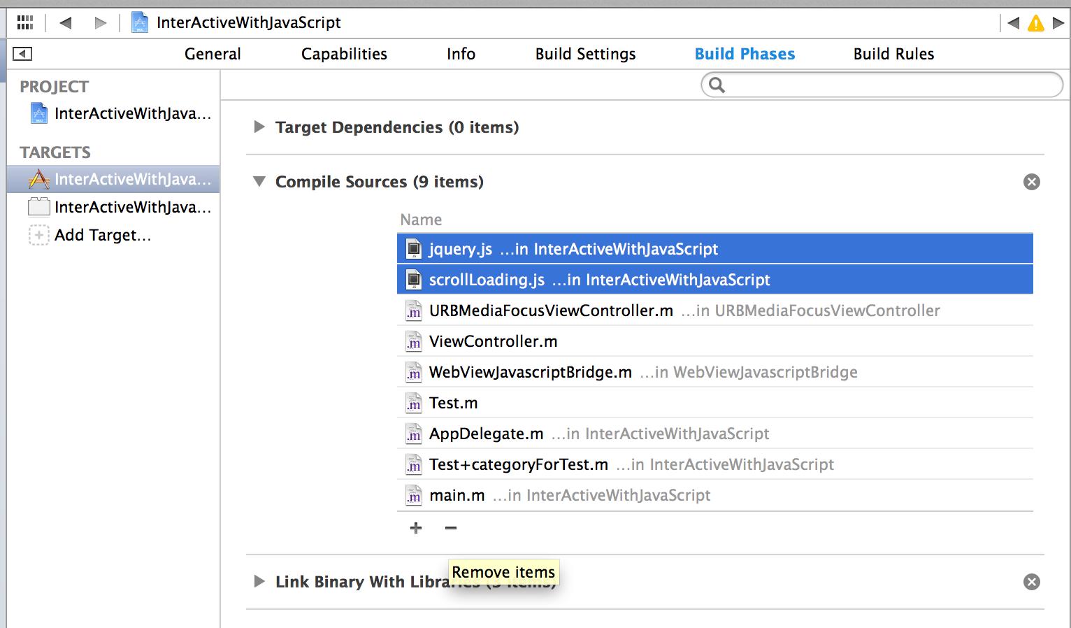 展开Compile Sources后能看到两个js文件